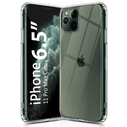 transparent bumper iPhone 11 Pro Max