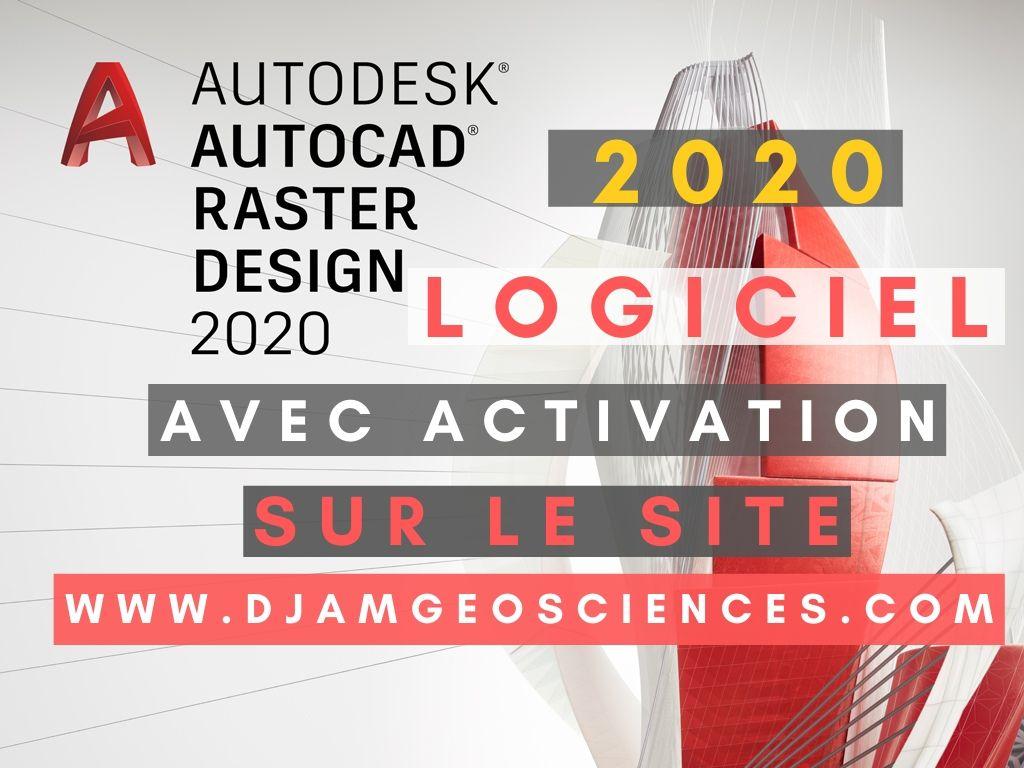 Autocad Raster Design 2020 | Installation et activation sans problèmes crack 2020