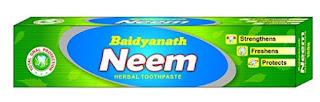 Baidyanath -neem-herbal-toothpaste
