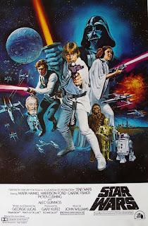 Poster de Una Nueva Esperanza de Star Wars