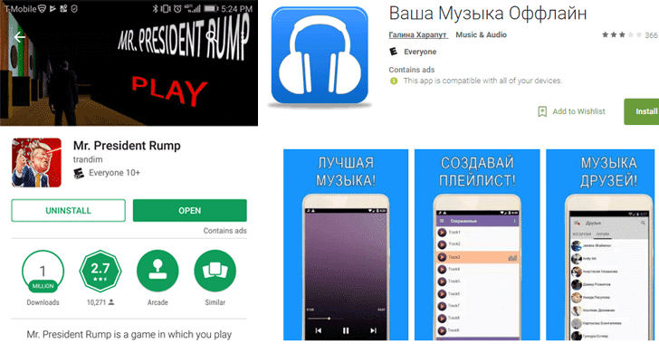 Password Stealing Apps With Over A Million Downloads Found On Google Play Store