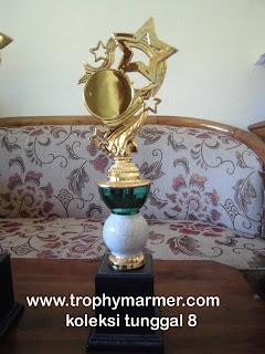 Harga Trophy piala marmer Koleksi 8 tunggal
