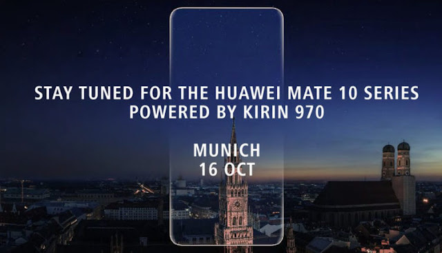 هواوي تنوي الإعلان عن هاتفها الذكي Mate 10 الشهر القادم