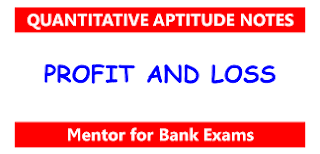 MATHS TRICK 9:- PROFIT AND LOSS WITH IMPORTANT FORMULA, SOLUTION AND SHORTCUT