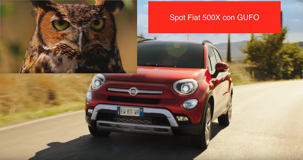 Canzone Fiat pubblicità 500X GPL Gufo - Musica spot Aprile 2017