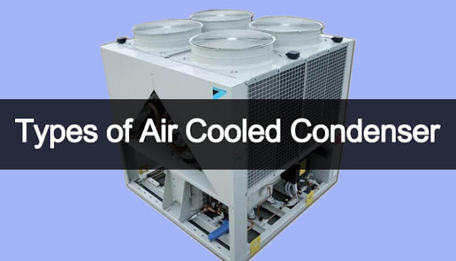 types of air condenser