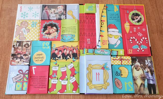 insight editions, advent calendars, tv show advent calendars, friends advent calendar