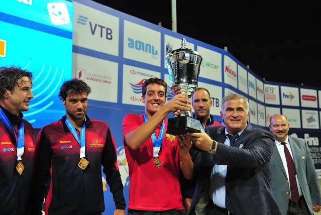 Montenegro Water Polo team