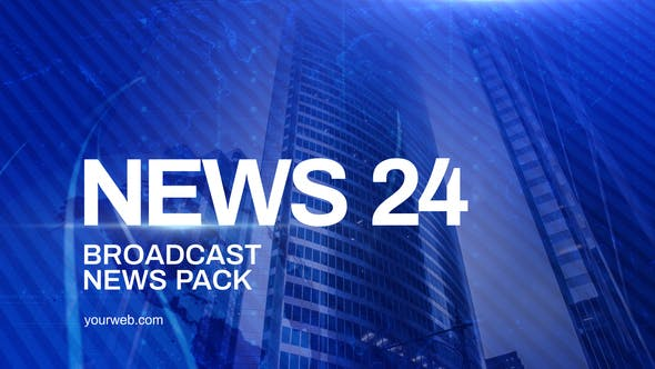 News Channel Pack   After Effects Project Files   Videohive