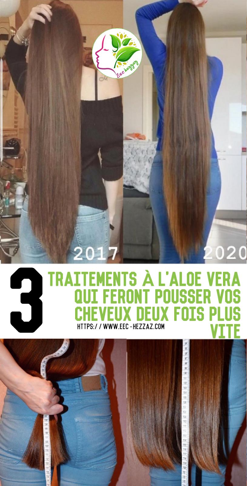 3 traitements à l'aloe vera qui feront pousser vos cheveux deux fois plus vite