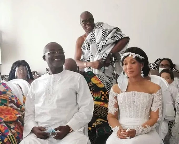 Photos: Kennedy Agyapong Ties The Knot In A Private Ceremony