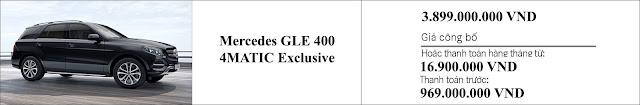 Giá xe Mercedes GLE 400 4MATIC Exclusive 2019 hấp dẫn bất ngờ