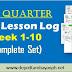 3rd Quarter DLL - Week 1-10 (Complete Set)