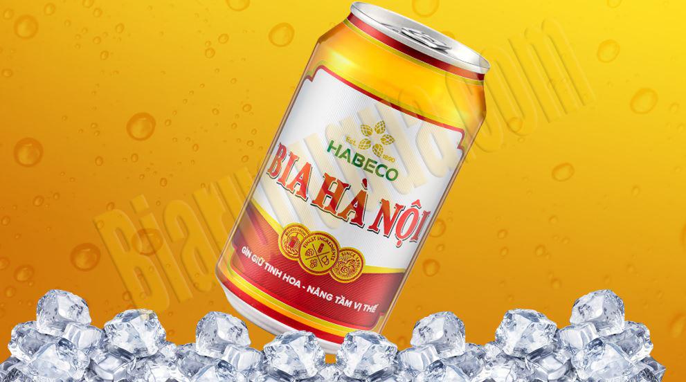Thùng bia lon Hà Nội