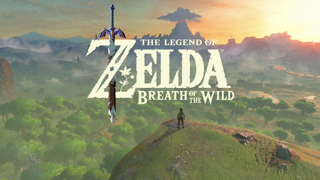 لعبة #-4 the legend of Zelda : breath of the  wild الاصدار الجديد 2017