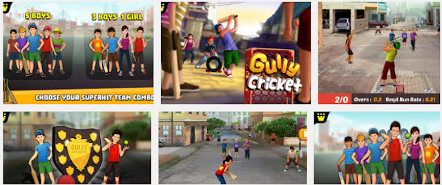 Gully Cricket Game 2016 Latest Version for Android Free Download