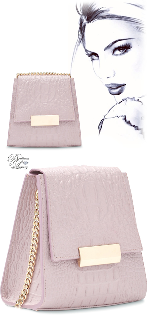 Brilliant Luxury ♦ Boudoir des Lubies Paris ~ Capucine Croco Bag #lavande