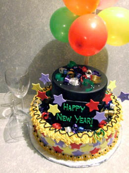 New Year Cake Images 2018 : {#50+} Happy New Year Cakes Recipes Ideas 2018
