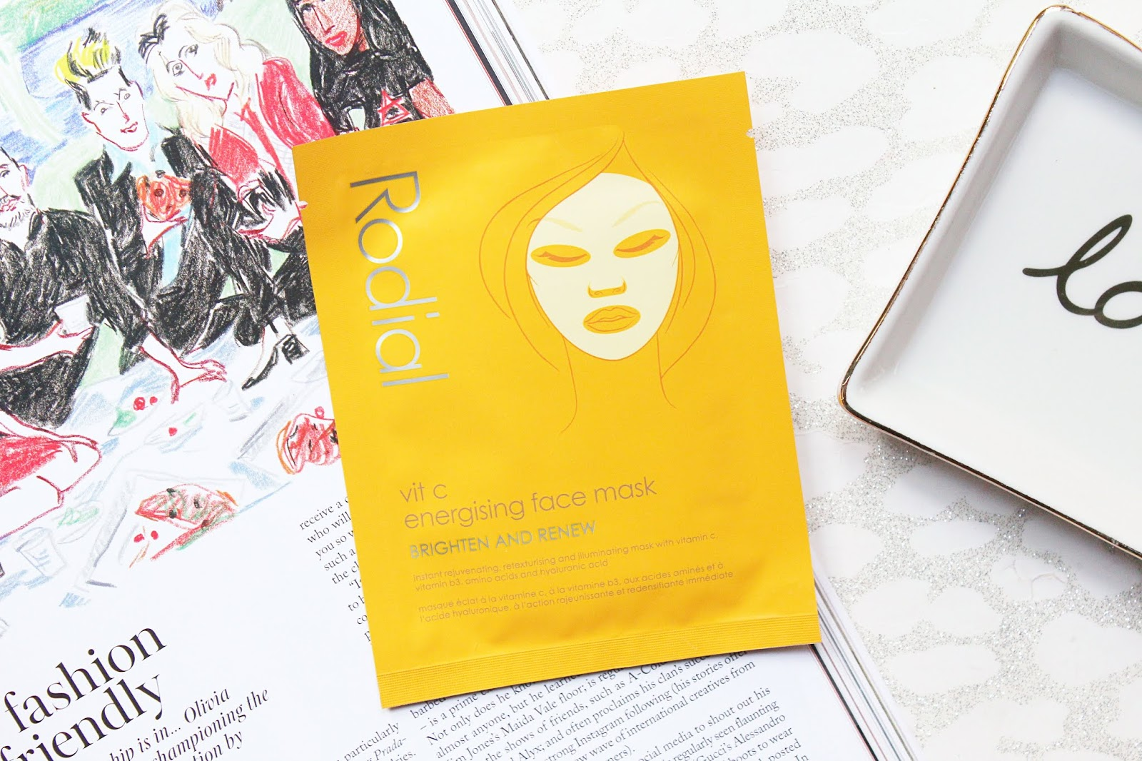 Rodial Vit C Energising Face Mask Review