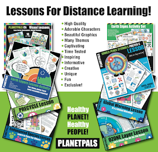 Distance Learning Remote Learning Resources - If you need resources that are inspiring, fun, and light hearted for kids to learn about their world, earth science, life skills and health, try some of Planetpals activities!