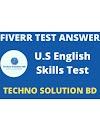 Fiverr U.S. English Basic Skills Test Answer-2021