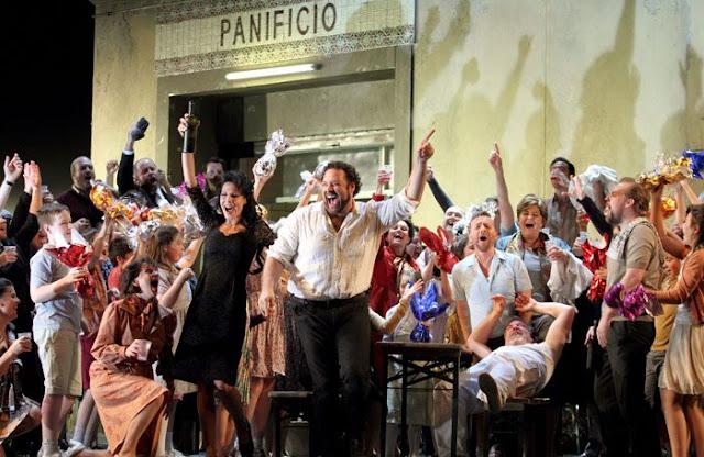 Mascagni: Cavalleria Rusticana - Martina Belli, Bryan Hymel - Royal Opera House (Photo ROH/Catherine Ashmore)