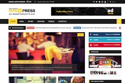 Nanopress Responsive News Magazine Blogger Template Free Download