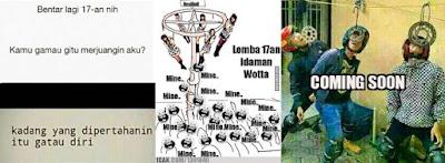 12 Meme 'Lomba 17 Agustusan' Ini Bikin Nggak Sabaran Buat Ikut Lomba