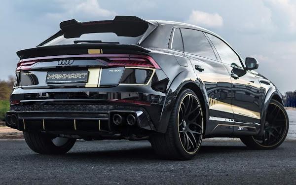 Manhart RQ 900: Audi RS-Q8 chega a 900 cv com preparação