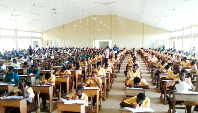 Over 500,000 candidates sit for 2019 BECE today