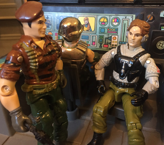 1988 Tiger Force Flint, Night Force Psyche Out, Super Trooper, Mail Away, Toys R Us exclusive