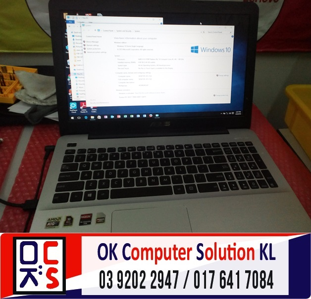 [SOLVED] FORMAT BACKUP ASUS X555D | REPAIR LAPTOP CHERAS 3