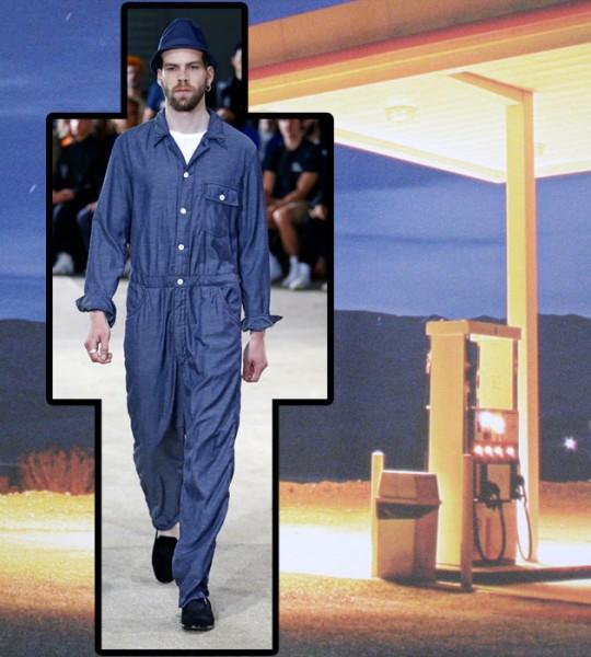 Pois é a grande vedete nas passarelas de primavera-verão 2017 das semanas  de moda masculina internacionais. 198eb6144df