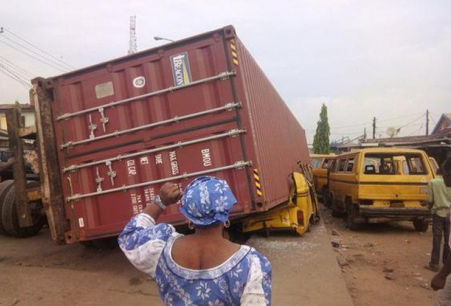 trailer banned lagos roads