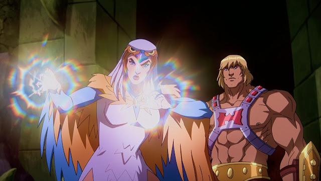 quien en eternia - nueva Sorceress y nuevo He-man