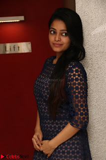 Dazzling Janani Iyer New pics in blue transparent dress spicy Pics 031.jpg