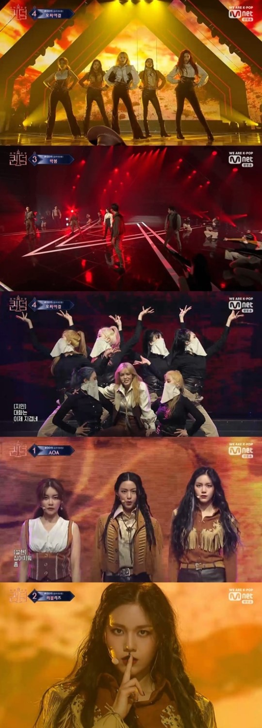 AOA opened the doors for Mnet 'Queendom' Final contest with outstanding performance and a cowboy concept!