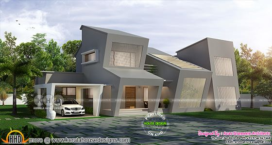 New generation Kerala home design