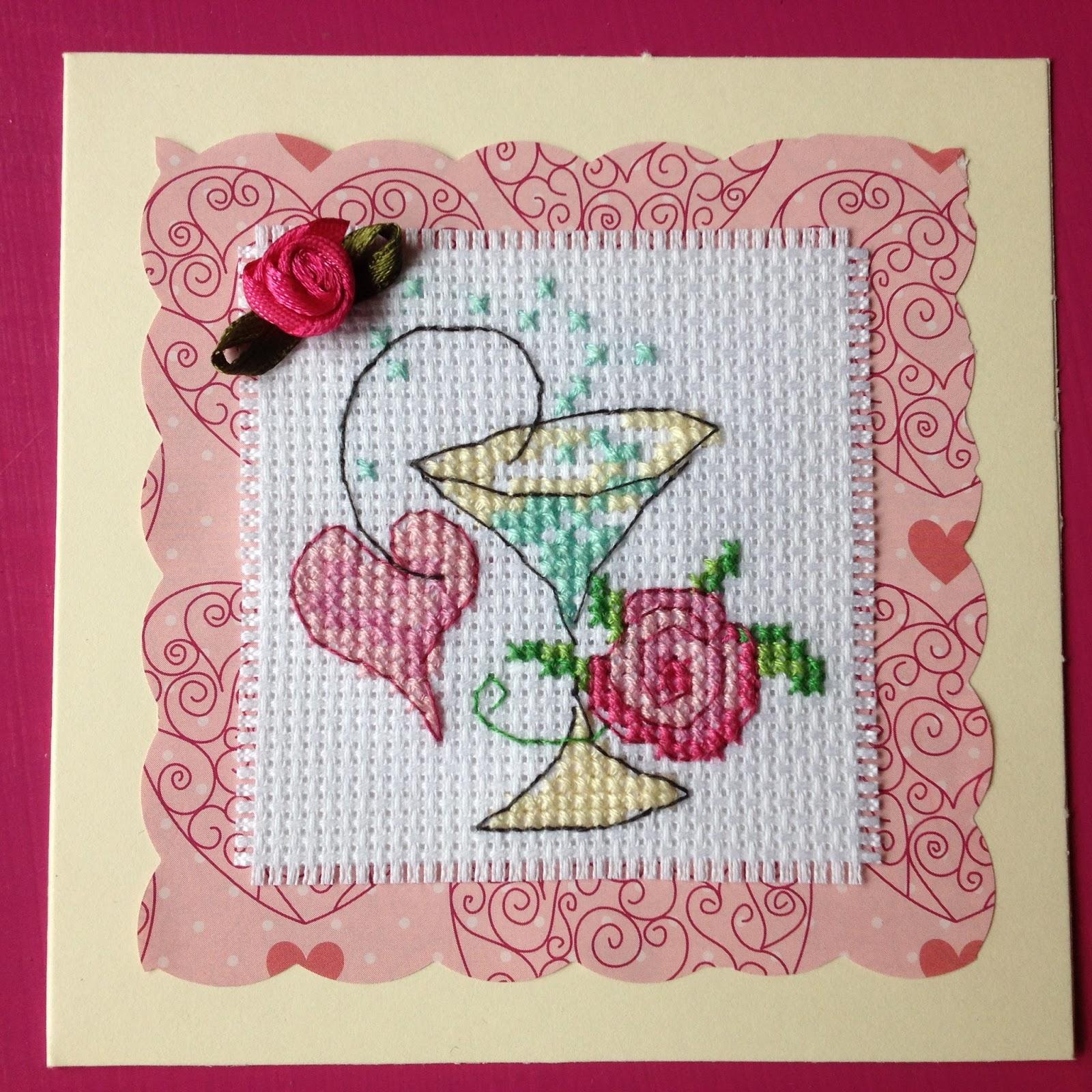 My Little X-stitch Nook: Birthday Cards Delivered