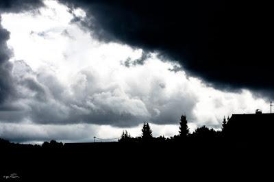Wolkenbilder Heilbadweg Ludwigsburg