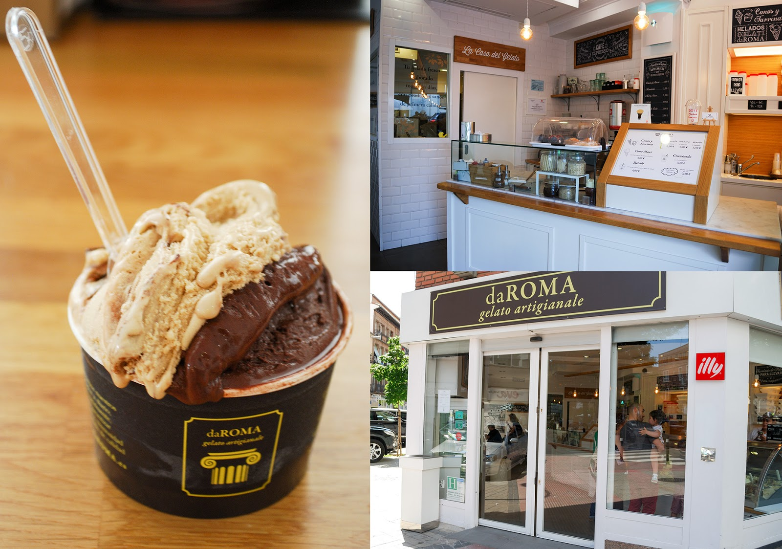 gelateria da roma italian madrid gelato food cuisine spain ice-cream