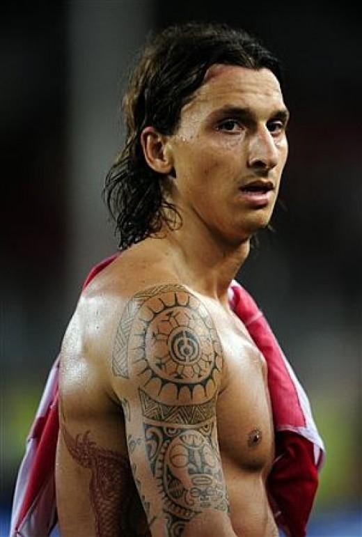 sidney crosby olympics: zlatan ibrahimovic tattoos