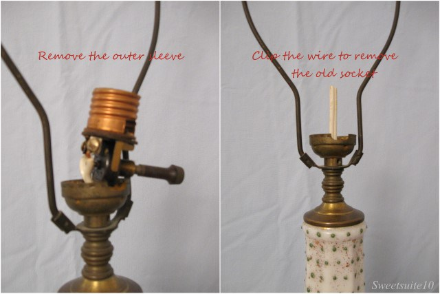 How to rewire a lamp - part 1