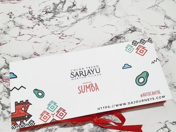 Review Sariayu Color Trend 2020 Inspirasi Sumba Makeup Kit