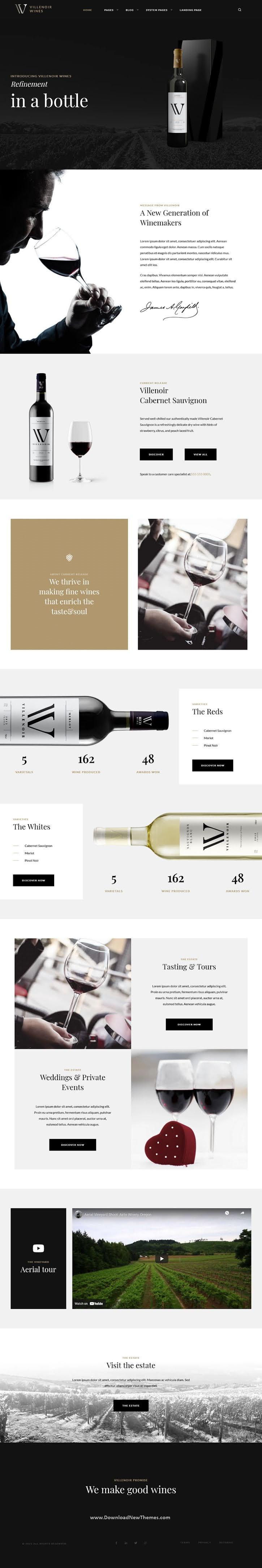 Wine Hubspot Theme