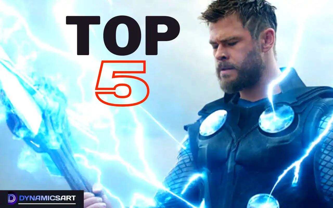 Thor Top 5 Best Fight Ever in MCU