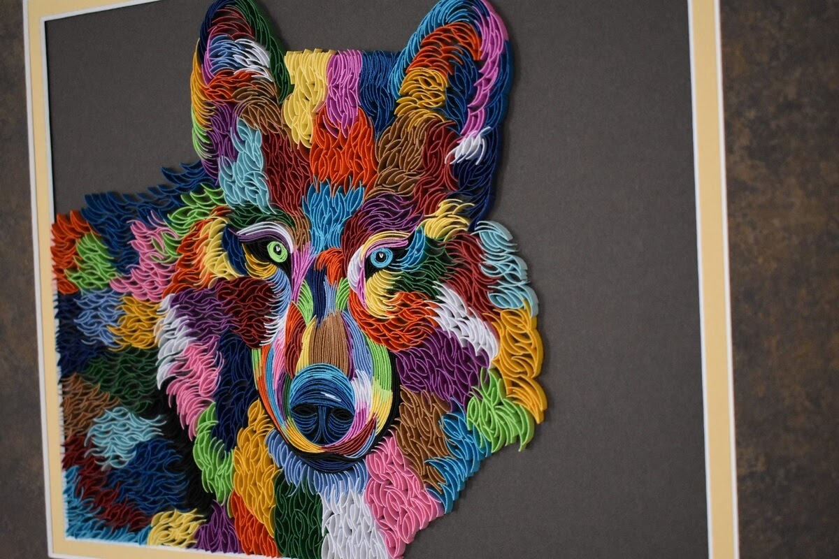 05-Abstract-Wolf-Tatiana-People-and-Animal-Portraits-plus-Flower-Quilling-www-designstack-co