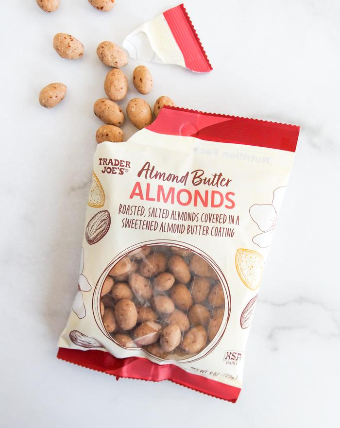 Trader Joe's almond butter almonds review
