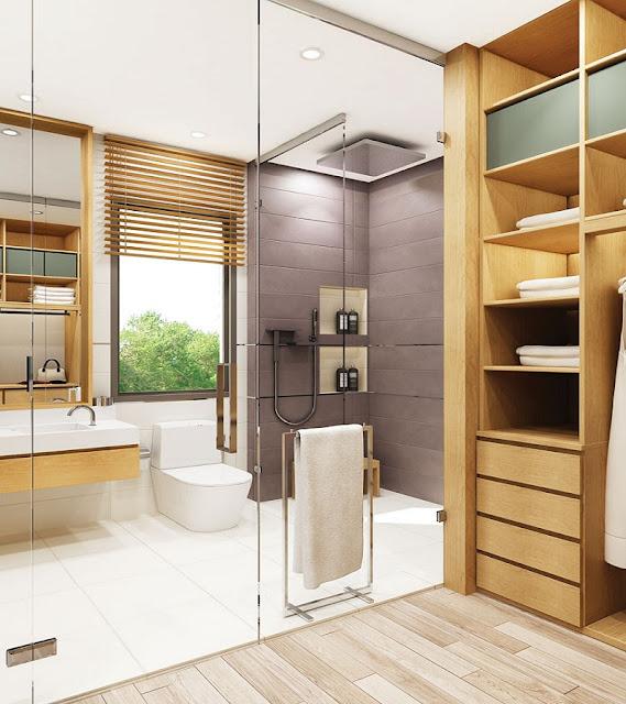 Thiết kế nhà mẫu căn hộ River City Quận 7