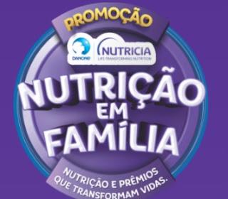 Cadastrar Promoçao Danone Nutrição em Família